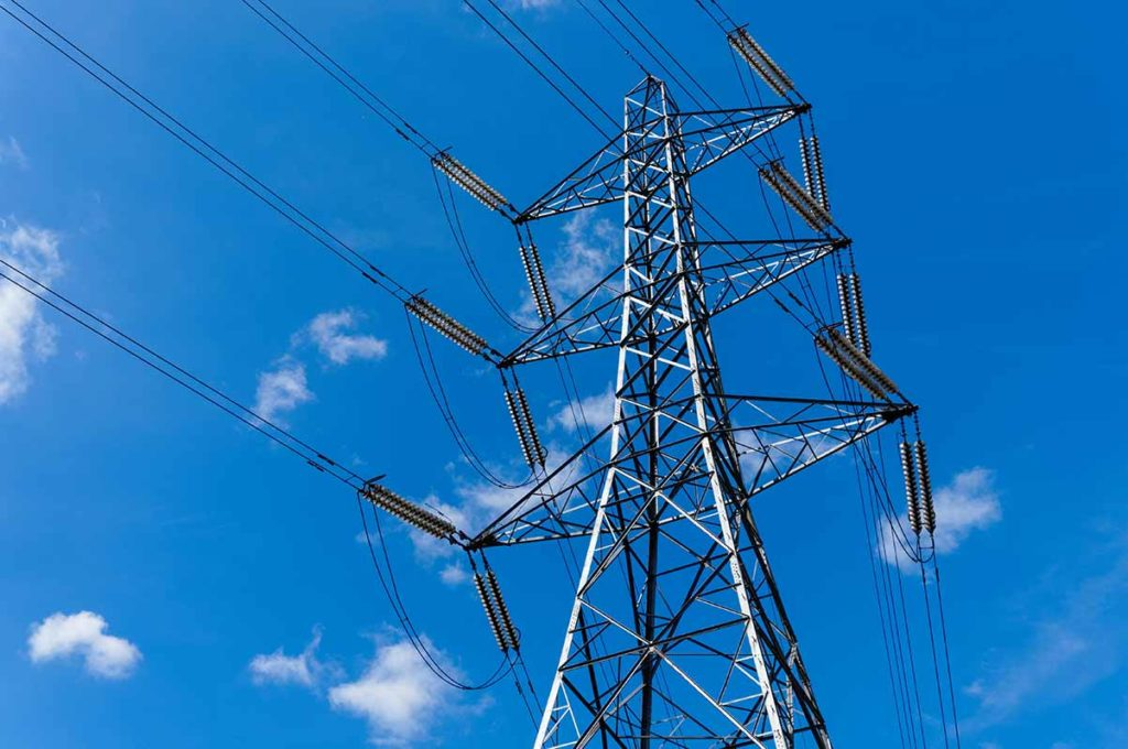 Electricity pylon - the cost of renewable tariffs is driven by wholesale energy prices